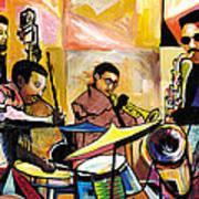 Jammin N Rhythm Art Print