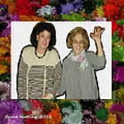 Jane And Mom Art Print