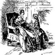 Jane Eyre Illustration Art Print by