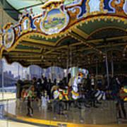 Jane's Carousel 1 In Dumbo Art Print