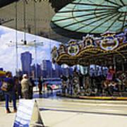Jane's Carousel 2 In Dumbo - Brooklyn Art Print
