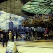 Jane's Carousel 3 In Dumbo Art Print