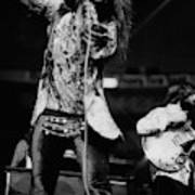 Janis Joplin On Stage Art Print