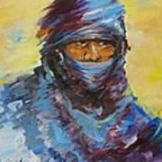 Janjaweed 3 Art Print by Negoud Dahab