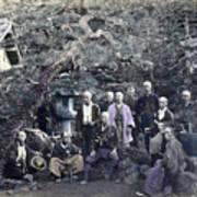 Japan Group Portrait, C1866 Art Print