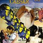Japanese Chin Art - Julius Caesar Movie Poster Art Print