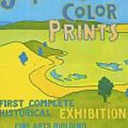 Japanese Color Prints 1896 Art Print
