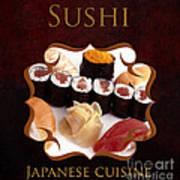 Japanese Cuisine Gallery Art Print