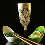 Japanese Fine Dining Art Print