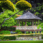 Japanese Gazebo Art Print