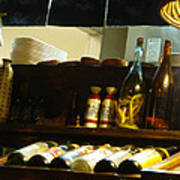 Japanese Kitchen And Sake Selection Art Print