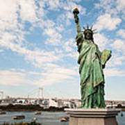 Japan's Statue Of Liberty Art Print