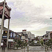 Japantown - Nihon Machi - San Francisco Art Print