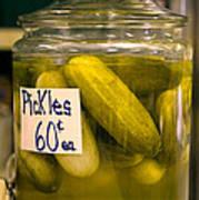 Pickle Jar Art Print