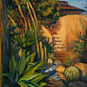 Jardin De Cactus Art Print