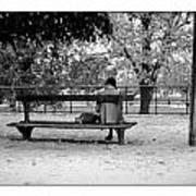 Jardin De Tuileries Art Print