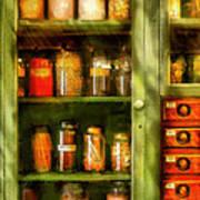 Jars - Ingredients II Art Print