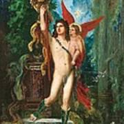 Jason And Eros Art Print