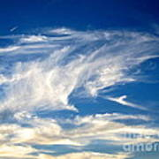 Jaws And Jet Nevada Sky Art Print