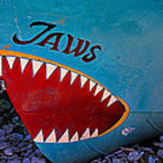 Jaws Boat Bow Art Print