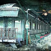 Jay Gould Private Railroad Car Art Print