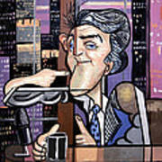 Jay Leno You Been Cubed Art Print