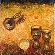 Jazz ... Art Print by Draia Coralia