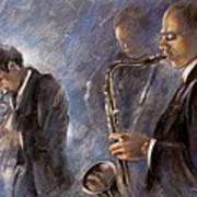 Jazz 01 Art Print