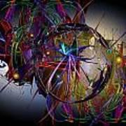 Jazz Age Spiral Art Print