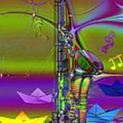 Jazz Chill Art Print
