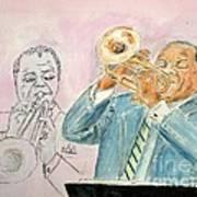 Jazz Dream Team   Art Print