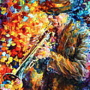 Jazz Feel Art Print