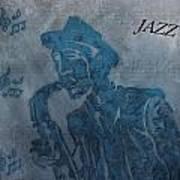 Jazz Man Art Print