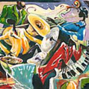Jazz No. 3 Art Print