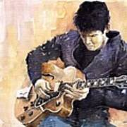 Jazz Rock John Mayer 02 Art Print