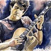 Jazz Rock John Mayer 06 Art Print