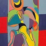 Jazzamatazz Saxophone Art Print