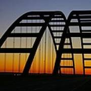 Jb Bridge Art Print