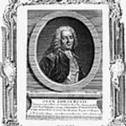 Jean Louis Petit (1674-1750) Art Print