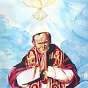 Jean Paul II Art Print