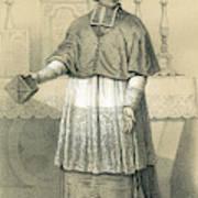Jean-siffrein Maury  French Priest Art Print