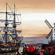 Jeanie Johnston Famine Ship Art Print