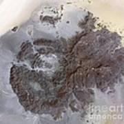Jebel Uweinat Mountains, Satellite Image Art Print