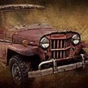 Jeep Willys Art Print