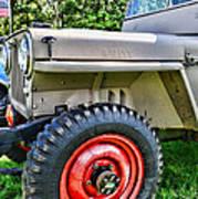 Jeep Willys Ww2 Art Print