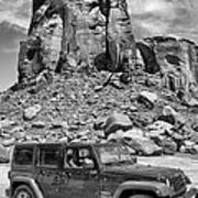 Jeep...it's A State Of Mind Art Print