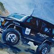 Jeepspeed Art Print