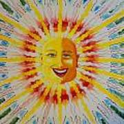 Jeffer Sun Art Print
