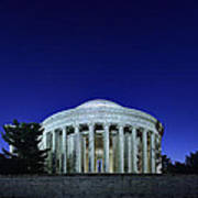 Jefferson In The Morning Art Print by Metro DC Photography
