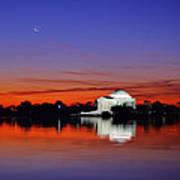 Jefferson Memorial At Dawn Art Print